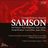 George Frideric Handel: Samson / Raymond Leppard