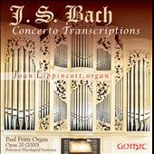 Bach Concerto Transcriptions