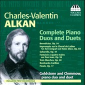 Charles-Valentin Alkan: Complete Piano Duos and Duets, Vol. 1