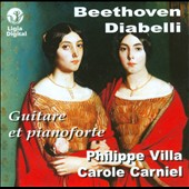 Beethoven, Diabelli: Guitare et Pianoforte