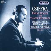 György Cziffra - Paraphrases and Transcriptions