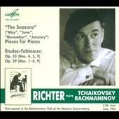 Richter Plays Tchaikovsky: The Seasons; & Rachmaninov: Etudes-Tableaux / Sviatoslav Richter: piano