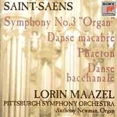 Saint-Sa&#235;ns: Symphony no 3, etc / Maazel, Pittsburgh SO