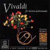 Vivaldi for diverse instruments / McGegan, Blumenstock, etc