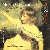 SCENE  Clementi: Piano Works Vol 3 / Stefan Irmer