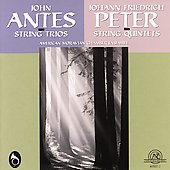 Antes: String Trios;  Peter / American Moravian Chamber