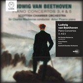 Beethoven: Piano Concertos Nos. 3, 4 & 5 / Artur Pizarro, piano. Scottish CO, Mackerras