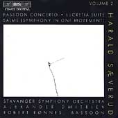 Saeverud Vol 2 -  Bassoon Concerto, etc / Ronnes, Dmitriev