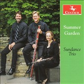 Summer Garden - contemporary trios Peter Hope, Jenni Brandon, Gernot Wolfgang, Michael head / Geralyn Giovannetti, oboe; Christian Smith, bassoon; Jed Moss, piano