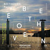 Beethoven, Period. Complete sonatas and variations for cello and piano on period instruments / Matt Haimovitz, Violoncello; Christopher O'Riley, fortepiano