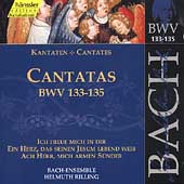 Edition Bachakademie Vol 42 - Cantatas BWV 133-135 / Rilling