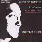 Beethoven: Piano Sonata no 30, 31 & 32 / Freddy Kempf