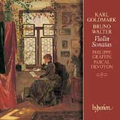 Goldmark, Walter: Violin Sonatas / Graffin, Devoyon