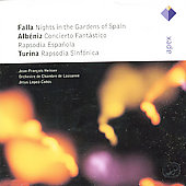 Falla, Alb&eacute;niz, Turina / Heisser, Lopez-Cobos, Lausanne CO