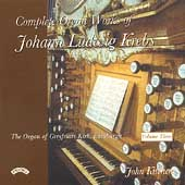 Krebs: Complete Organ Works Vol 3 / John Kitchen