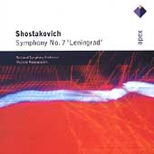 Shostakovich: Symphony no 7 / Rostropovich, National SO