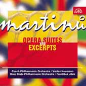 Martinu: Opera Suites and Excerpts / Neumann, Jilek, et al
