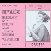 Wagner: Die Walk&uuml;re / Sawallisch, Adam, Martin, et al