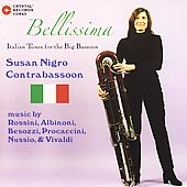 Bellissima - Rossini, Albinoni, Vivaldi, etc / Susan Nigro