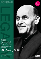 Elgar: Symphony No. 2, Enigma Variations / Solti/London PO [DVD]