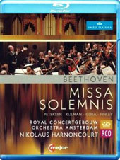 Beethoven: Missa Solemnis / Petersen, Kulman, Guera, Finlay. Harnoncourt, Royal Concertgebouw Orchestra [Blu-Ray]