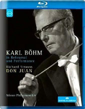 Karl Bohm in Rehearsal and Performance - Richard Strauss: Don Juan / Vienna PO (rec. Sept., 1970) [Blu-ray]