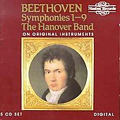 Beethoven: Symphonies 1-9 / Roy Goodman, Hanover Band, et al
