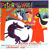 Prokofiev: Peter & the Wolf, etc / Karloff, et al