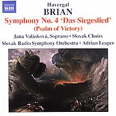 Brian: Symphonies no 4 & 12 / Leaper, Val&aacute;skov&aacute;, et al