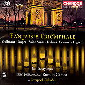 Fantaisie Triomphale - Guilmant, etc / Tracey, Gamba
