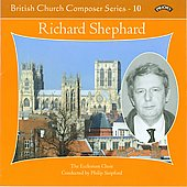 British Church Composers Vol 10 - Richard Shephard / Stopford, Hamill, Campbell, Ecclesium Choir