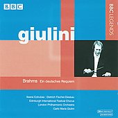 Brahms: Ein deutsches Requiem / Giulini, Cotrubas, Fischer-Dieskau, Edinburgh International Festival Chorus, London PO
