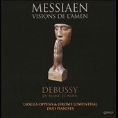 Two Piano Music of Messiaen & Debussy / Oppens; Lowenthal, pianists