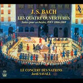 J.S. Bach The 4 Orchestral Suites (Overtures) for orchestra / Jordi Saval
