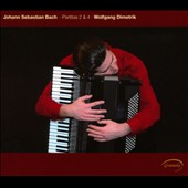 JS Bach: Partitas nos 2 & 4 for keyboard / Wolfgang Dimetrik, accordion