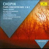 Chopin: Piano Concertos Nos. 1 & 2 / Tamas Vasary; Ivo Pogorelich, pianists