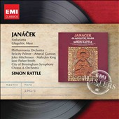 Janacek: Glagolitic Mass; Sinfonietta / Felicity Palmer; Ameral Gunson; John Mitchinson; Malcolm King; Jane Parker-Smith. Simon Rattle