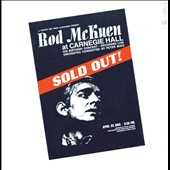 Rod McKuen: Sold Out at Carnegie Hall [Deluxe Edition]