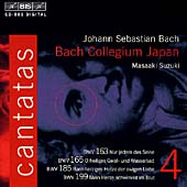 Bach: Cantatas Vol 4 / Suzuki, Bach Collegium Japan