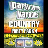 Karaoke: Party Tyme Karaoke: Country Party Pack, Vol. 4