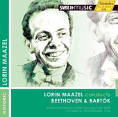 Lorin Maazel Conducts Beethoven: Symphony no 2; Bartok: Concerto for Orchestra (rec. 1958)