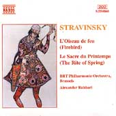Stravinsky: Firebird, The Rite of Spring / Rahbari, BRT PO