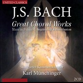 Bach: Mass in B minor / Elly Ameling, Yvonne Minton, Helen Watts, Werner Krenn, Tom Krause