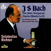 J.S. Bach: The Well-Tempered Clavier, BWV 846-893 (Books I & II, Complete) / Sviatoslav Richter, piano