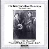 Georgia Yellow Hammers: The Georgia Yellow Hammers & Associates, Vol. 1: 1924 - March 1927