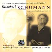 Elisabeth Schumann On the Art of Lieder Interpretation