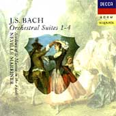 Bach: Orchestral Suites 1-4 / Marriner, ASMF