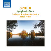 Louis Spohr (1784-1859): Symphony No. 4 'Die Weihe der Töne; Faust, overture, Op. 60; Jessonda, overture, Op. 63 / Budapest SO, Alfred Walter