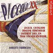 Piccolo XX - Jan&#225;cek, Castiglioni, et al / Fabbriciani
