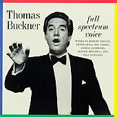 Thomas Buckner - Full Spectrum Voice